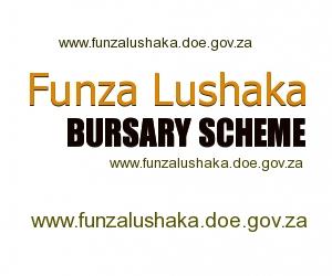 Funza lushaka bursary scheme application form.